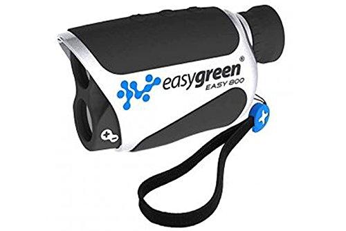 Easygreen Easy 800 Telemetro Laser da Golf, 800m, Nero/Argento
