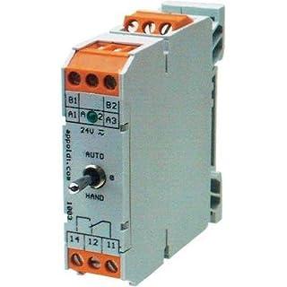 Appoldt RM-1W/Rückm. Industrierelais 1 St. Nennspannung: 24 V/DC, 24 V/AC Schaltstrom (max.): 8A 1