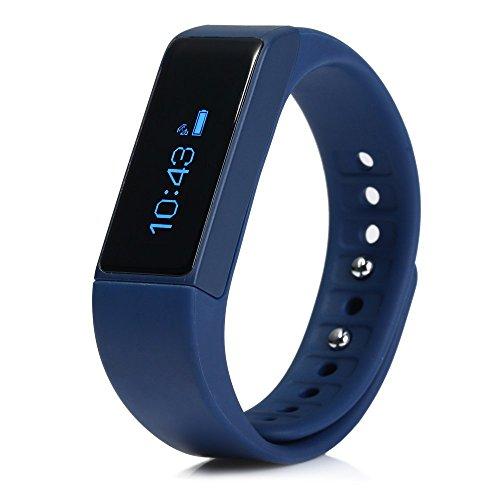 LENCISE Original Smart Wristband Bluetooth 4.0 Sports Fitness Tracker Band Sleep Monitor Pedometer Smart Bracelet for Android IOS. (Reloj Digital Sony)