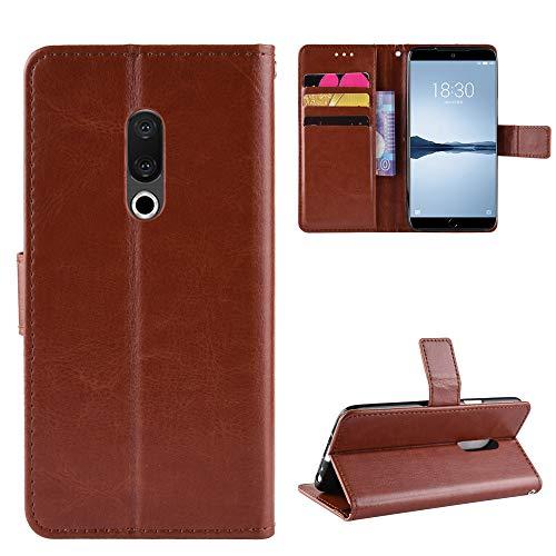 Custodia® Flip Brieftasche Hülle für Meizu 15 Plus(Muster 4)