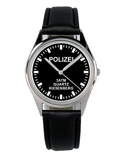 Polizist Geschenk Artikel Idee Fan Uhr B-2414 (Geschenk-ideen Für Polizisten)
