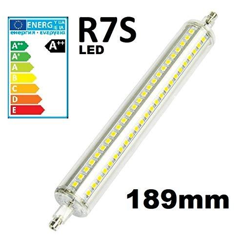 live-wire-direct lampada LED alogena lineare R7s Eco tubo lampadine fari, Pure White, 189mm, R7S