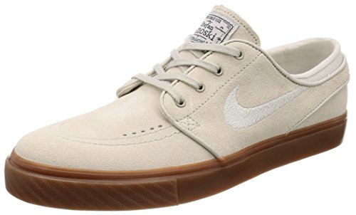 Nike SB Zoom Stefan Janoski' Light Bone/Light Bone/Thunder Blue/Gum Dark Brown. 7UK