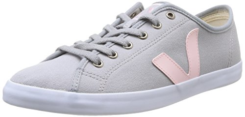 Veja Taua, Baskets mode femme Gris (Oxford Grey/Petale)