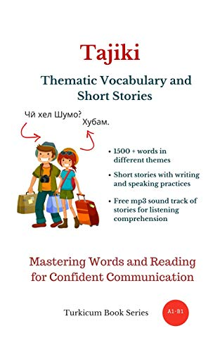 Tajiki: Thematic Vocabulary and Short Stories (English Edition)