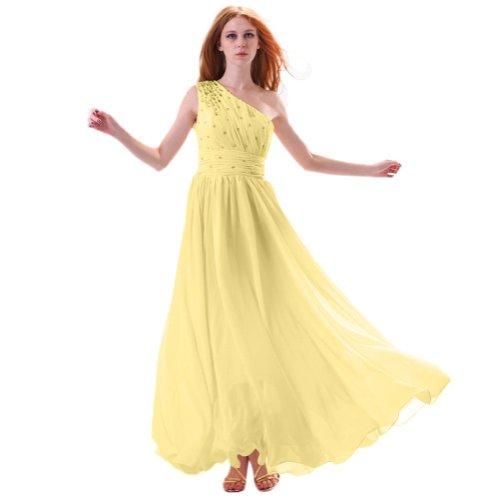 Lemandy - Robe -  Femme Jaune - Jaune