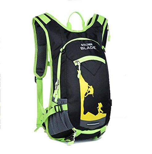 SZH&BEIB Outdoor-Rucksack wasserdicht Polyester für das Reiten Tasche Klettern Wasserbeutel wandern C