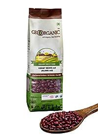 GRO Organic Red Rajma-500 Grams