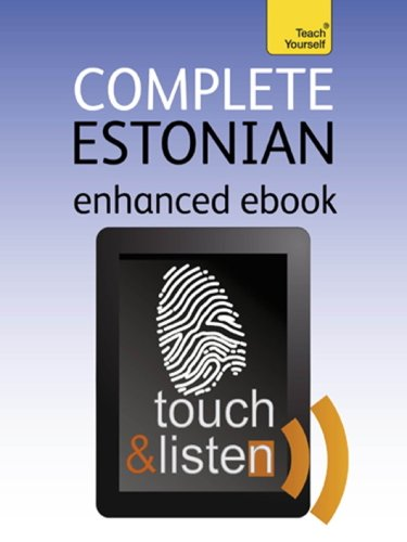 Complete Estonian: Teach Yourself: Audio eBook (Teach Yourself Audio eBooks) (English Edition)