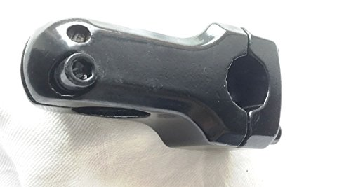 "Alu BMX Vorbau 50 mm Länge 1 1/8\"" 22,2mm, Fahrradlenkervorbau stem Schwarz (A5)"
