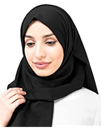 Inessence© New Cotton Voile Scarf Ladies Wrap, Multiple colour choices, Large Oversized Maxi and Regular Hijab …