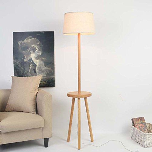 Popa Lampada da terra Lampade da terra in legno nordico soggiorno ...