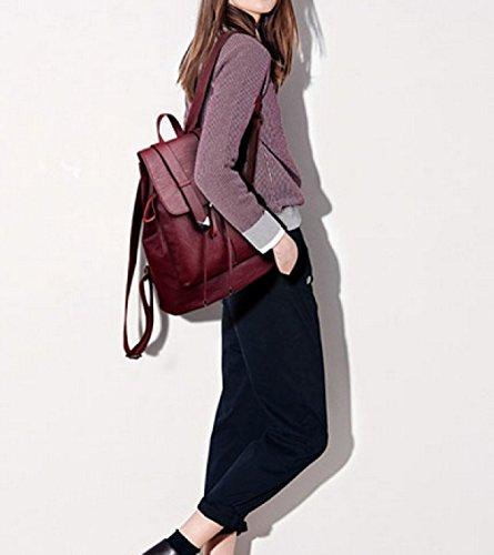 LAIDAYE Mode Mit Großer Kapazität Frau Urlaubsreisen Rucksack Silver