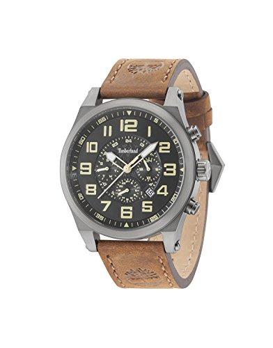Timberland Reloj Multiesfera para Hombre de Cuarzo con Correa en Cuero 15247JSU/02
