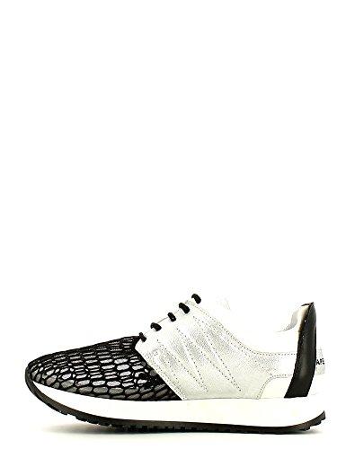 Apepazza Mono Mesh/Specchio Damen Sneakers Schwarz