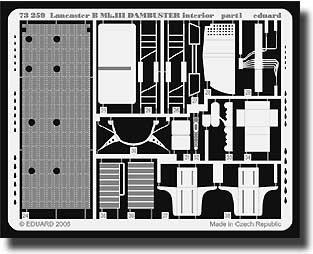 Eduard Accessories 7325930502000Lancaster B MK.III dambuster Interior para Hasegawa Montar.