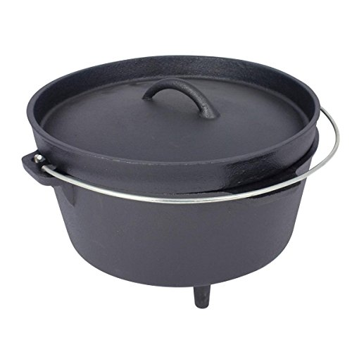 Mil-Com Dutch Oven 4.25ltr Cookset One Size Black by Milcom