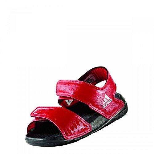 adidas Unisex-Kinder Altaswim Fcb I Gladiator Sandalen, Rot (Rojfcb/Ftwbla/Grpudg), 19 EU -
