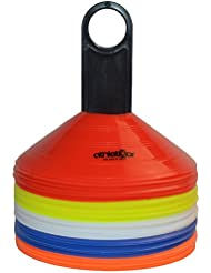 Markierungshütchen 50'er SET, gelb, weiß, blau, rot, orange von athletiKor ®