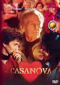 Casanova BBC(DVD)Peter O'Toole David Tennant Rose Byrne