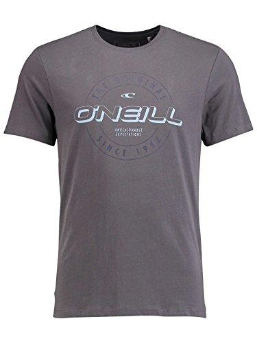 Herren T-Shirt O'Neill Badge T-Shirt Asphalt