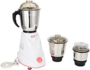 Signora Care Eco Matic 550-Watt Mixer Grinder with 3 Jars