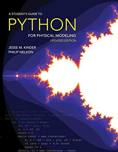 A Student\'s Guide to Python for Physical Modeling: Updated Edition (English Edition)
