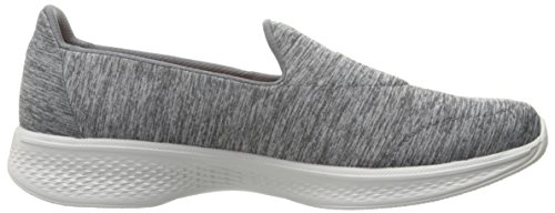 Skechers Damen Go Walk 4-Achiever Sneakers Gray
