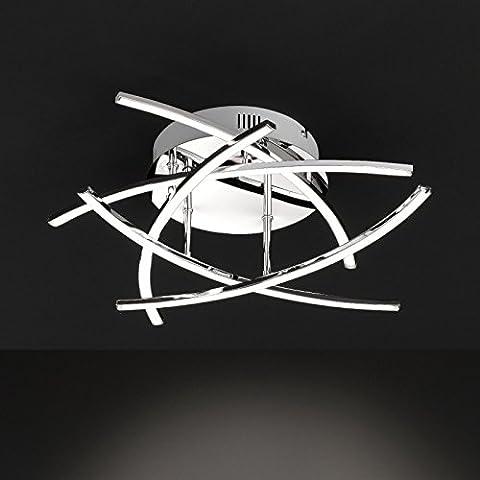 LED Deckenleuchte Fischer-Honsel 23102 Wohnraumlampe Cross 5x 4 Watt