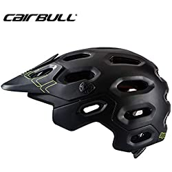 Dequate Casco de Ciclismo, MTB y VTC, CAIRBULL 29 Professional Mountain Rally Sport Riding Helmet