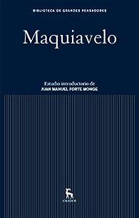 Maquiavelo par Nicolás Maquiavelo