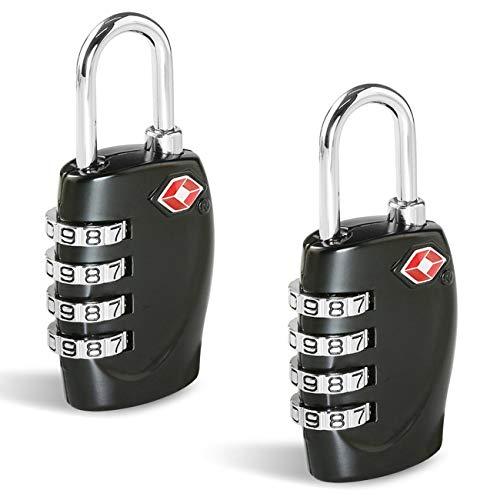 TSA Candados Maleta, Candado Homologado Equipaje de Seguridad [2 Pack]