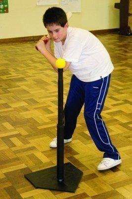 Softball Baseball Rrounders Fähigkeit Übung/Training Verstellbar Schlagen Tee - Ersatz