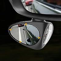 YYD Adjustable Car Blind Spot Mirror Rear View Mirror Safer parking(2pcs)