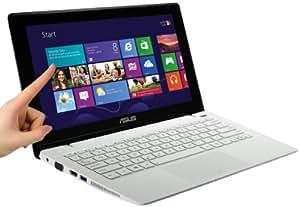 """Asus Touch X200MA-CT132H PC portable tactile 11"""" Blanc (Intel Celeron, 4 Go de RAM, Disque dur 500 Go, Intel HD graphics, Windows 8)"""