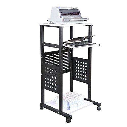 Lapdesks TH Desktop-Laptop-Tisch Stehpult es Kann Besprechungstisch Einfachen Projektor Tisch Verschieben (Größe : 1.2m)