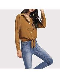 Amazon.es: Camisetas, tops y blusas - Mujer: Ropa: Camisetas, Blusas y camisas, Camisetas sin mangas y mucho más