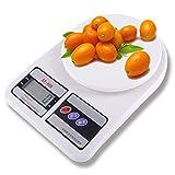 TKFY Balance de Cuisine électronique échelle de ménage numérique avec rétroéclairage LCD Fonction de Tare Mesure en g oz y Compris Les Batteries 24 * 17 * 4cm