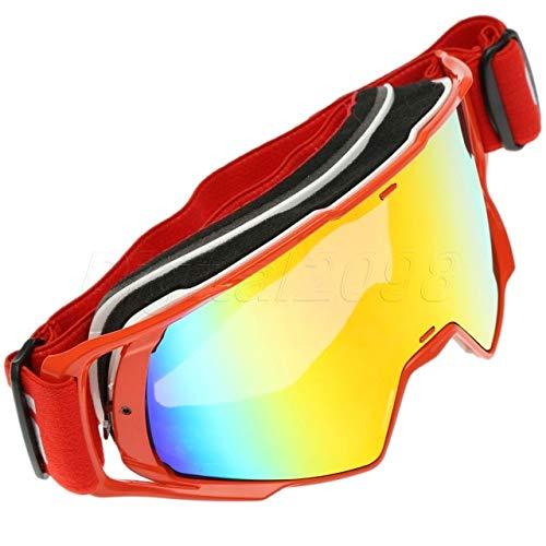 249e8d2b53 BEESCLOVER Motocross Motocicleta Dirt Bike ATV Gafas Esquí Skate Gafas Sun  Glasses Motor al Aire Libre