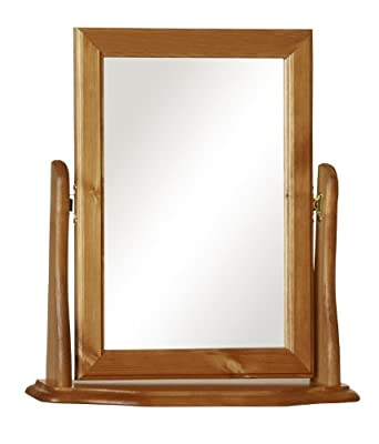 Furniture To Go Copenhagen Dressing Table Mirror, 47 x 49 x 14 cm, Antique Pine