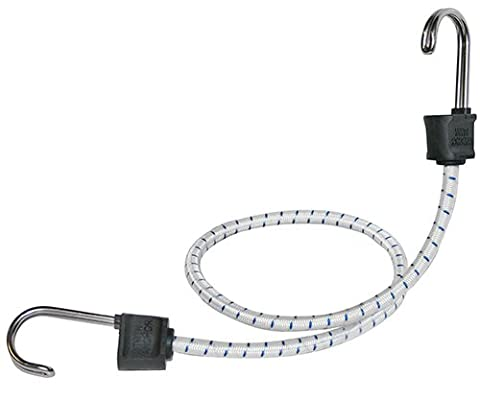 Keeper 06272 18 Marine Twin Anchor Bungee Cord with Stainless Steel Hook by Keeper