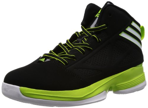 Adidas Schuhe Basketball Trainings Mad Handle 2 Kinder Junior Kinder black1/runwh, Größe Adidas:4 Jungen Schuhe Adidas Basketball