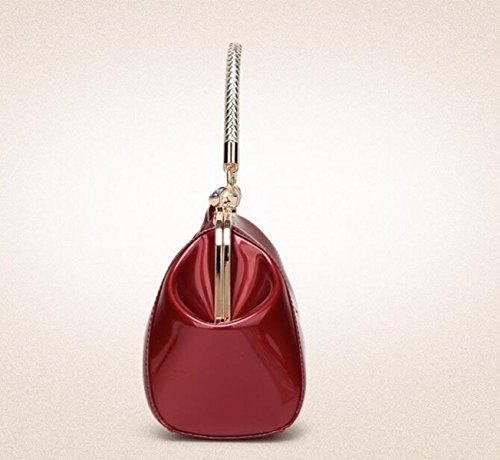 Modische Frauen Handtaschen Handtasche Schulter Skip Bag Black