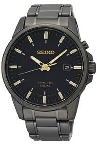 Reloj Seiko SKA531P1 automático para hombre con correa de acero inoxidable, color gris de Seiko