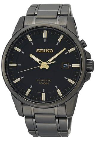 Seiko - SKA531P1 - Montre Homme - Automatique - Analogique - Aiguilles Lumineuses - Bracelet Acier Inoxydable Gris