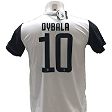 Camiseta de Fútbol PAULO DYBALA 10 Juventus NUEVA Temporada 2017-2018 Replica OFICIAL con LICENCIA - Todos Los Tamaños NIÑO y ADULTO (6 AÑOS)