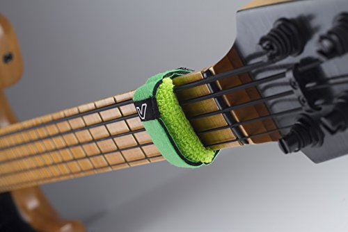 GruvGear HD-FretWrap (3er Pack) Small leaf grün