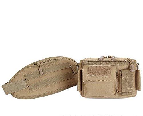 &zhou Kleine Taschen abnehmbar für den Einsatz im freien Männer und Frauen kombiniert Geldbörsen Bewegung Schulter Umhängetasche 3