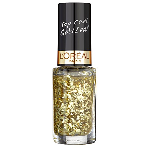 L'Oréal Paris Color Riche Smalto Top Coat, 920 Goldleaf