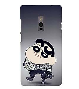 Ebby Premium 3d Desinger Printed Back Case Cover For OnePlus Two (Premium Desinger Case)